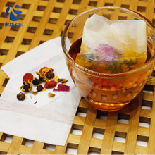 Nonwoven unbleached tea filter bag