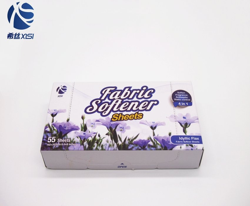 New Cheap product laundry dryer fabric softener sheets