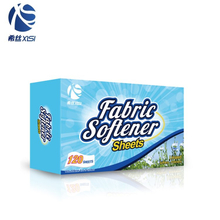 New fragrance fabric clothes softener dryer sheets