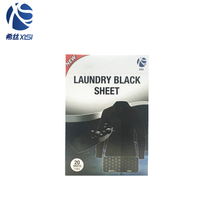Laundry fabric black sheets for black clothes