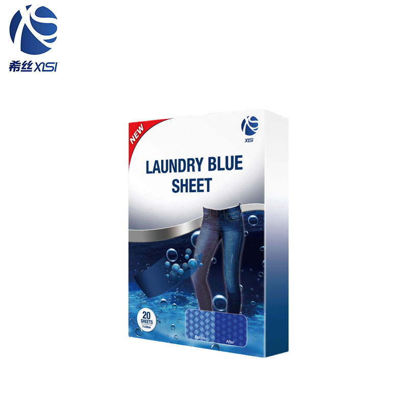 OEM easy to carry laundry blue sheet restore color